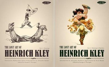 """The Lost Art Of Heinrich Kley"" Collects Over 450 ... - Cartoon Brew 