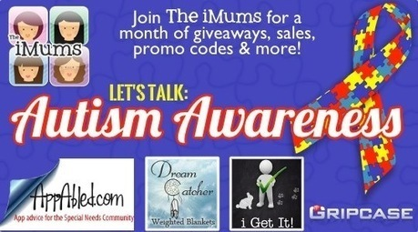 Light it Up Blue for Autism Awareness - Today's Featured Free Apps @ The iMums | Apps for Autism | Scoop.it
