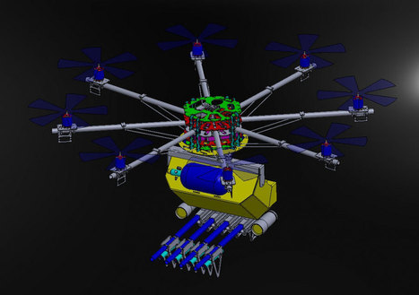 'World's first riot control copter' drone unveiled, shoots pepper spray, plastic bullets | Personal Security | Scoop.it