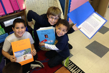 [PHOTO] Clark 4th Graders Share Stories With Kindergarten Buddies - NJ TODAY | Owl Reading Literacy | Scoop.it