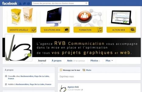 6 idées pour tirer avantage de votre photo couverture Facebook | E-Communication | Scoop.it