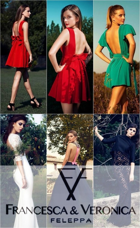 FRANCESCA & VERONICA FELEPPA Fashion House | New Capsule Collection 2013/2014 | TAFT: Trends And Fashion Timeline | Scoop.it