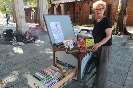 Do The Green Thing: A pedal powered library for people with no fixed address | innovative libraries | Scoop.it