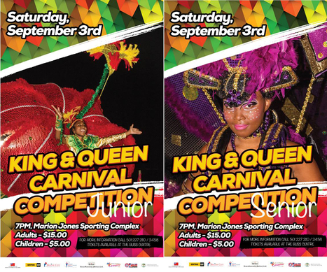 Belize Carnival King and Queen Competition to be held this Saturday - September 3rd | Travel - Things to do in Belize | Scoop.it