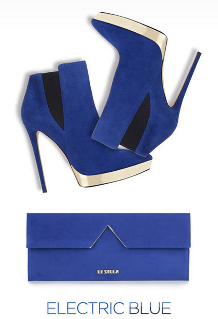 Le Silla | Electric Blue: the color of this fall | CHICS & FASHION | Scoop.it