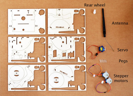 Mirobot - the DIY WiFi robotics kit for children | educació i tecnologia | Scoop.it