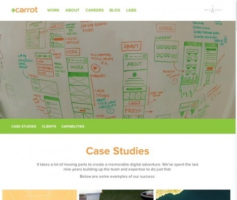 2014 Web Design Trends, Inspiration & Showcase | JUST™ Creative | local online marketing | Scoop.it