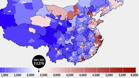 Mapping the Four C's of Chinese Wealth   China economy   Scoop.it
