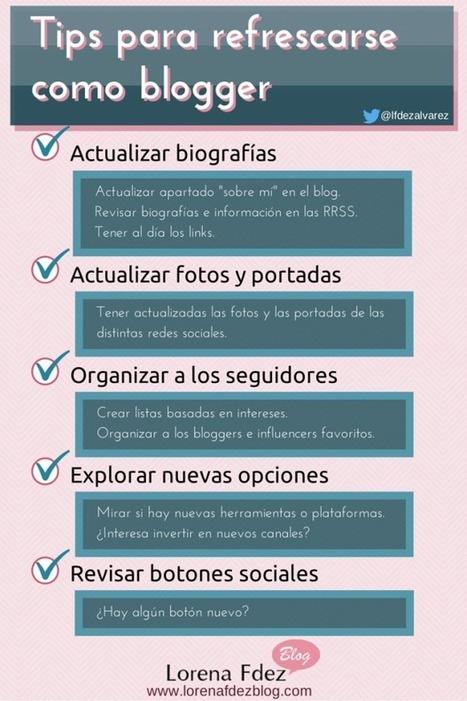 Tips para refrescarse como blogger | Seo, Social Media Marketing | Scoop.it