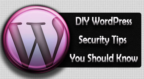 DIY WordPress Security TIPS You Should Know! | Template Monster Blog | WordPress tips | Scoop.it