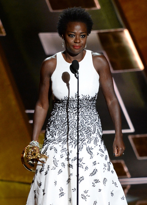 History! Viola Davis Becomes 1st Black Woman To Win Emmy For Lead Actress in Drama | Community Village Daily | Scoop.it