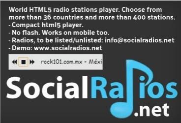 World HTML5 Radio player WorldPress plugin by @SocialRadios | Online Radio Audience | Scoop.it