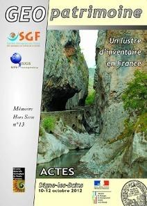Géopatrimoine, un lustre d'inventaire en France | Lorraine | Scoop.it