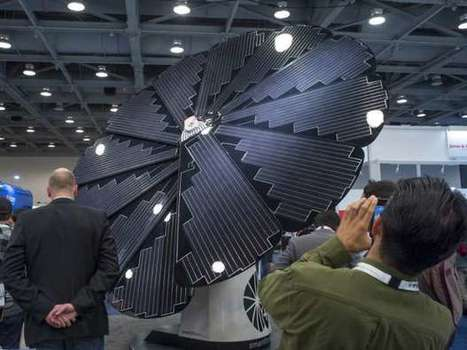 Bright future for renewable energy on display at giant solar show | Solar Energy projects & Energy Efficiency | Scoop.it