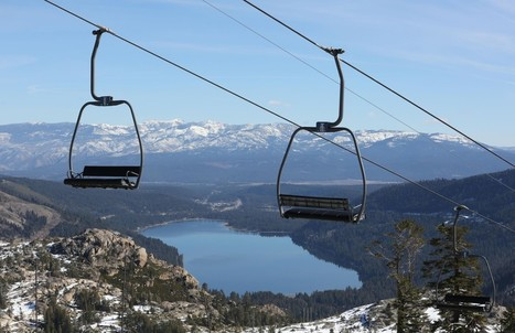 Small California Ski Resorts Struggle After 4 Years of Droughts | climate change and tourism | Scoop.it