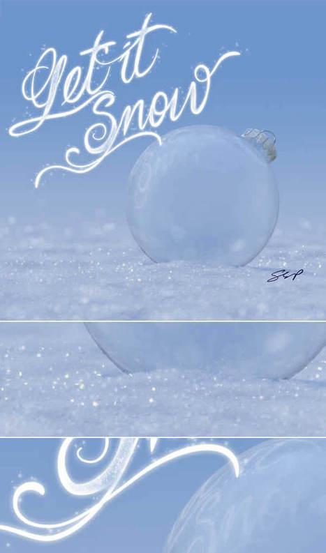 10 Free and Amazing Christmas and Winter-Inspired Tutorials | Psdtuts+ | Animación, videojuegos, tutoriales | Scoop.it