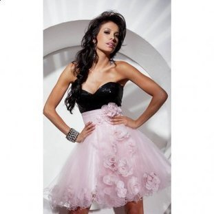 Gorgeous Floral Adornment Pink Short Layered Tulle Skirt [Pink Short Layered Tulle Skirt] - $178.90 : www.thedresses2014.com | prom dresses | Scoop.it