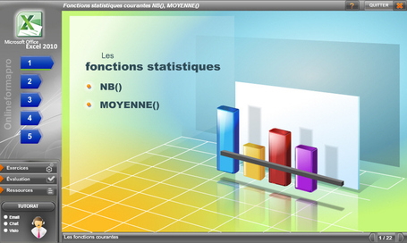 Excel : module d'autoformation en ligne | formation 2.0 | Scoop.it