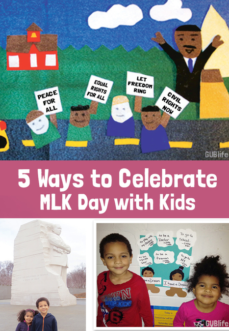 5 Ways to Celebrate Martin Luther King Jr. Day with Kids - Multicultural Kid Blogs | GLOBAL GLEANINGS: Culling Content on Global Education, Diversity, Sustainability, and Service. | Scoop.it