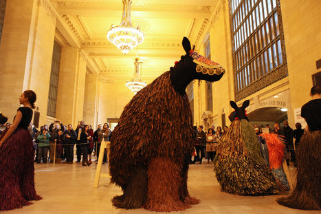 'Heard NY' Brings Dancing Horses to Grand Central Terminal | Music, Theatre, and Dance | Scoop.it