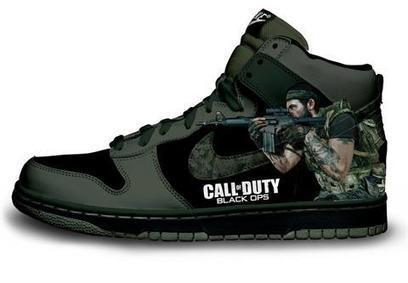 Blog - Call of Duty Black Ops Dunks Custom Shoes Nikes Video Game   Comic Nike Dunks   Scoop.it