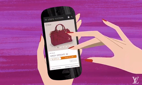Exclusive: Louis Vuitton Launches Mobile Commerce Site with a Cheeky Video | Digital & eCommerce | Scoop.it