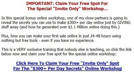 Learn A Proven Money Making System That Earns Richard Legg Hundreds Daily Inside This Do Not Miss Free Webinar | Help Me Make Money Online Training | Scoop.it