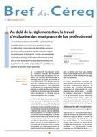 Au-delà de la réglementation, le travail d'évaluation des enseignants de bac professionnel | questions d'éducation | Scoop.it