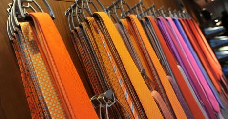 The skinny on men's ties? They're getting wide again | Kickin' Kickers | Scoop.it