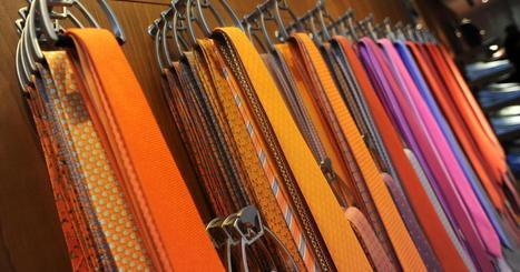 The skinny on men's ties? They're getting wide again | Kickin' Kickers | Scoop.it