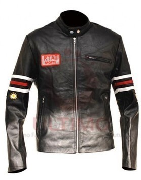 House M.D. Hugh Laurie Motorcycle Black Leather Jacket | Celebrities Leather Jackets | Scoop.it