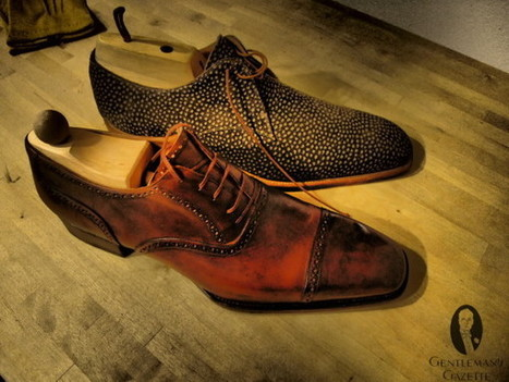 Wearing Brown in Town...Shoes That Is  |  Gentleman's Gazette | Tailored and Styled | Scoop.it
