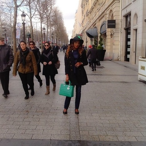 Spotted! Nollywood Actress- Chika Ike in Paris!- Photos | ChachaCorner | Scoop.it
