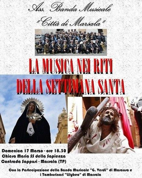 La musica nei riti della Settimana Santa a Marsala   Turismo Religioso   Scoop.it