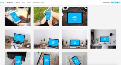 Smartmockups : un outil gratuit pour créer des maquettes de projets web | Time to Learn | Scoop.it