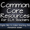 Common Core Resources for ELA Teachers