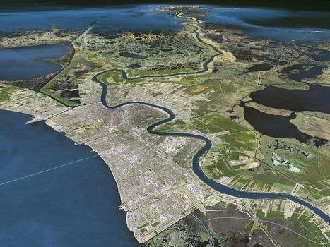 The Geography of New Orleans | Lorraine's Place and Liveability | Scoop.it