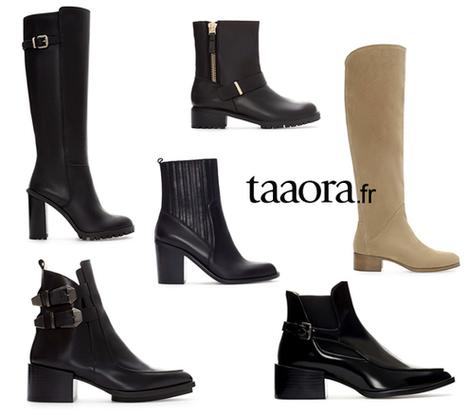 Zara chaussures Automne-Hiver 2013-2014 | Zara : la consommation française des marques espagnoles | Scoop.it