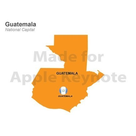 Guatemala Map for iPad Keynote Presentations | Apple Keynote Slides For Sale | Scoop.it