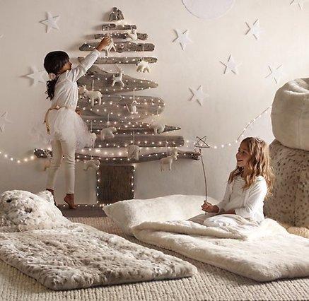 35 idées déco pour un joli sapin de Noël homemade et sans épine ! | décoration & déco | Scoop.it