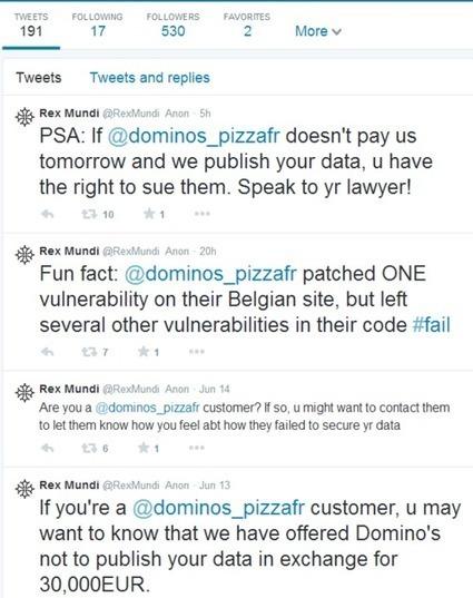 Le livreur de pizzas Domino piraté en pleine coupe du monde de foot ! | mediaTIC+ | Scoop.it