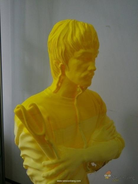3D Print big model of respected Bruce Lee statue | Winsion | Scoop.it