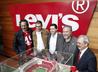 Levi's Stadium: 49ers' new Santa Clara home gets a name in $220 million deal | SoCooL Scoop [NO BULL] | Scoop.it
