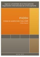IFADEM-Haïti : enquêtes de fin de formation | IFADEM : Initiative francophone pour la formation à distance des maîtres | Formation initiale et continue des instituteurs | Scoop.it