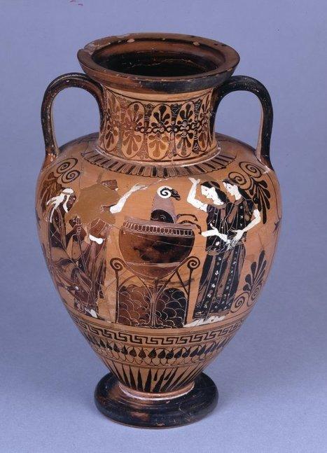 Ancient Peoples - Neck Amphora 510-500 BC Archaic Greek Medea... | Ancient Origins of Science | Scoop.it