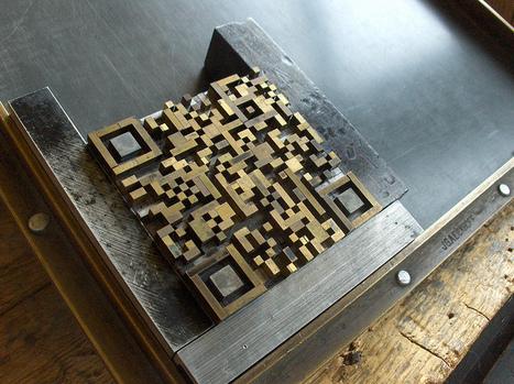 The letterpress QR Code generator | artcode | Scoop.it