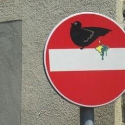 Cet artiste qui détourne les panneaux de signalisation | Docs utiles pour la classe | Scoop.it