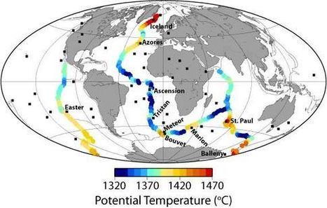 Hot mantle drives elevation, volcanism along mid-ocean ridges | Geology | Scoop.it