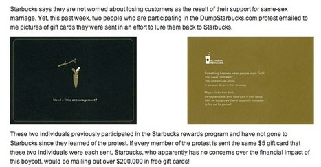'Look what we did to Starbucks!' hilariously claims the NOM that did absolutely nothing | Daily Crew | Scoop.it