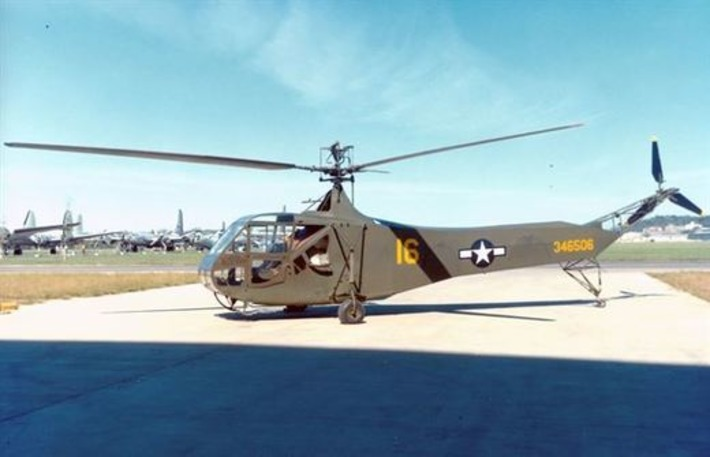 Sikorsky R-4B Hoverfly > National Museum of the US Air Force™ > Display | World War 2 Herald | Scoop.it